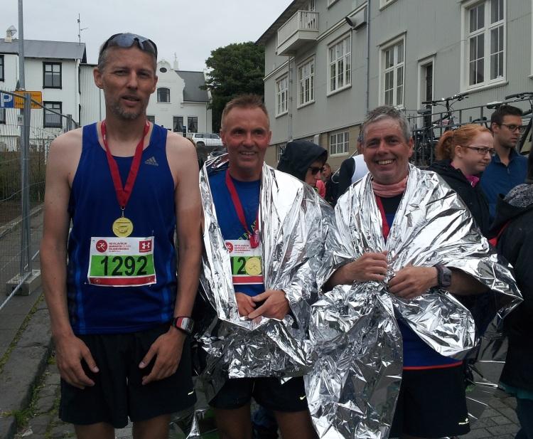 Running in Reykjavik - Marathon Finishers