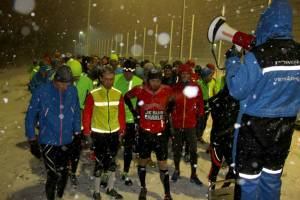 Running in Reykjavik -Powerade Winter Series