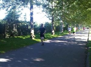 Running in Rerkjavik - Laugardalur