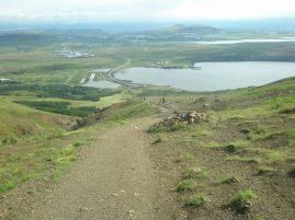 Esja running trail