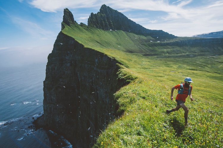 Thule Trails sailing and running shoot in North West Iceland, 14th July 2016